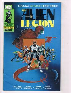 The Alien Legion #1 VF Epic Comics Comic Book Potts Apr 1984 DE46