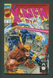 X-Men #1  (Wolverine Variant)  / 9.4 NM  / October 1991