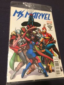 Ms. Marvel #1 NM Fried Pie Variant Still in Plastic Never Opened (2015)