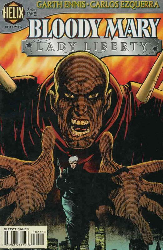 Bloody Mary: Lady Liberty #2 VF/NM; DC/Helix   save on shipping - details inside