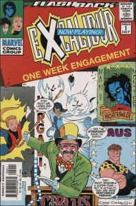 Marvel EXCALIBUR (1988 Series) #-1 VF/NM