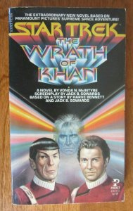 Star Trek The Wrath of Khan #1 1st Print shelf wear appears unread 6.0 FN (1982)