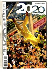 20/20 Visions Complete DC Comics LTD Series # 1 2 3 4 5 6 7 8 9 10 11 12 CR12