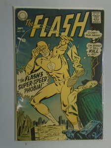 The Flash #182 4.0 VG Faded cover colors (1968 1st Series)