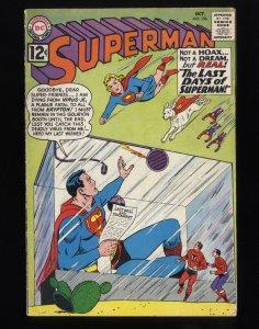 Superman #156 VG+ 4.5