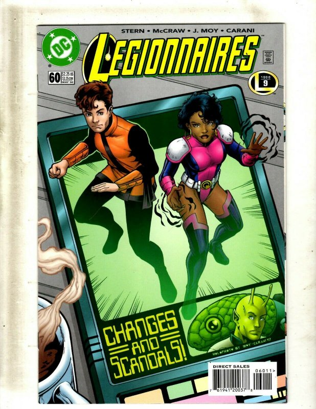 Lot Of 12 Legionnaires DC Comic Books # 60 61 62 63 64 65 66 67 68 69 70 71 GK34