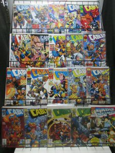 Cable (Marvel 1992) Lot of 20Diff from #20-86 X-Men Soldier Stories!