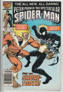 Spider-Man, Peter Parker Spectacular #116 (Jul-86) VF/NM High-Grade Spider-Man