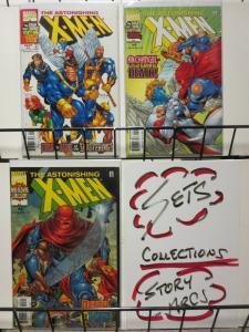 ASTONISHING X-MEN (1999) 1-3  the COMPLETE mini-series!
