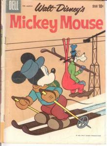 MICKEY MOUSE 70 GOOD Mar. 1960 COMICS BOOK
