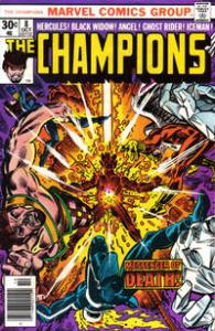 Marvel Comics The Champions #8 Hercules, Black Widow, Ghost Rider VF