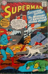 Superman #189 (DC,1966) Condition VG