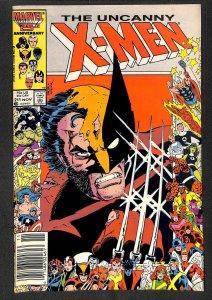 Uncanny X-Men #211 FN+ 6.5