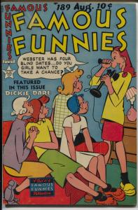 Famous Funnies #189 1950-Buck Rogers-Scorchy Smith-Steve Roper-Bobby Sox-FN