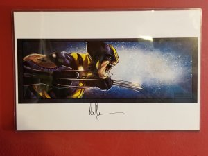 The Wolverine! A Print- Signed by Norman Lee