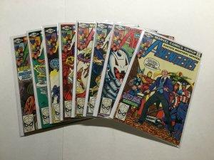 Avengers 201-208 Lot Run Set Fine/Very Fine Fn/Vf 7.0 Marvel