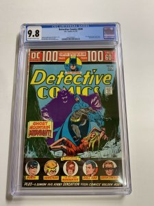 Detective Comics 440 Cgc 9.8 Ow/w Pages 100 Pages Batman Dc Comics RARE!