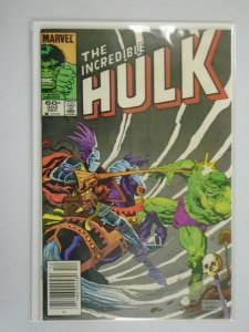 Incredible Hulk #302 Newsstand edition 5.0 VG FN (1984 1st Series)