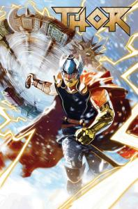 Thor #1 by Del Mundo Poster (24 x 36) Rolled/New!