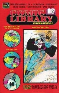 Comic Library International #2 VF/NM; Comic Library International   save on ship