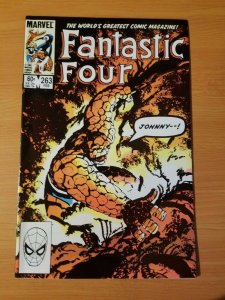 Fantastic Four #263 Direct Market Edition ~ NEAR MINT NM ~ (1984, Marvel Comics)