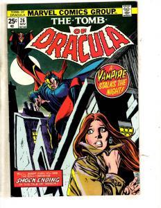 Tomb Of Dracula # 26 VF/NM Marvel Comic Book Horror Fear Vampire Monster TW64