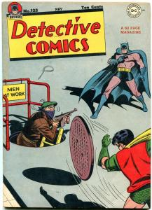 DETECTIVE #123 1947-DC COMICS-BATMAN-ROBIN-HIGH GRADE COPY