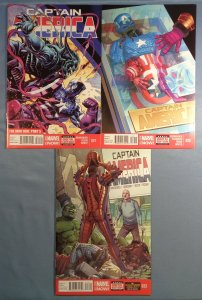 Captain America Lot #21 #22 #23 Marvel 2014