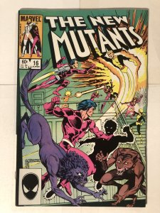 New Mutants #16 (1984) - 1st Appearance of Warpath & The Hellions