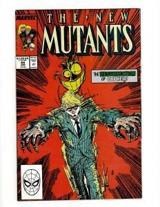 Lot of 12 New Mutant Marvel Comics #64 65 66 67 68 69 70 71 72 73 74 75 SM21