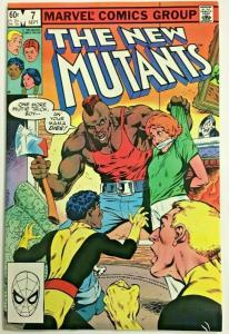 NEW MUTANTS#7 VF 1983 MARVEL COMICS