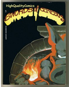 SWORDS of CEREBUS #2, 2nd print, VF+, Dave Sim, Indy, 1982, more in store