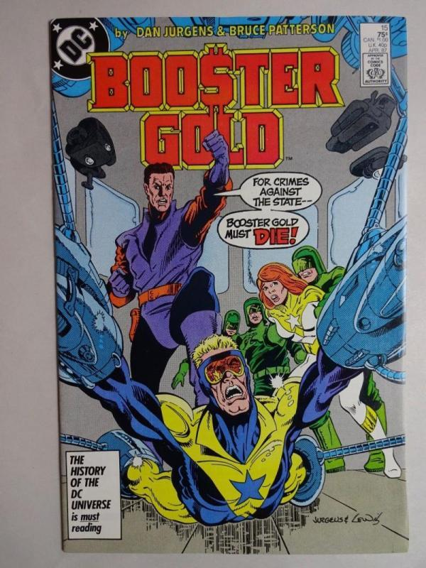 BOOSTER GOLD #15, VF/NM, Patterson, DC, 1986 1987,  more in store