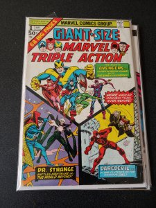 Giant-Size Marvel Triple Action #1 (1975)