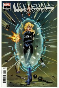 Invisible Woman #2 Conner Variant (Marvel, 2019) NM