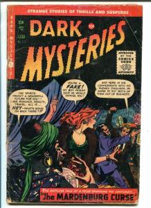 DARK MYSTERIES #23 1955-MERIT PUBS-PRE-CODE HORROR-A.C. HOLLINGSWORTH-good