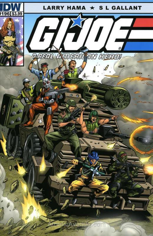 G.I. Joe, A Real American Hero #196 VF/NM; Marvel | save on shipping - details i