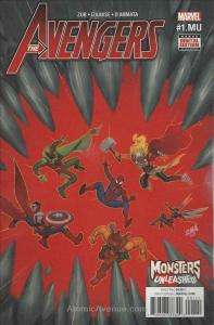 Avengers (7th Series) #1.2 VF/NM; Marvel | save on shipping - details inside