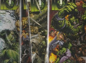 X-Men World War Hulk Set #1to5 (Aug-09) NM+ Super-High-Grade Hulk, Bruce Bann...