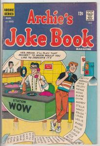 Archie's Joke Book #103 (Aug-66) FN/VF Mid-High-Grade Archie, Betty, Veronica...