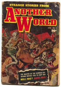 Strange Stories from Another World #2 1952- Saunders cover- Rare horror G