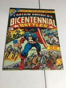 Captain America's Bicentennial Battles Fn- Fine- 5.5 Marvel Treasury Special