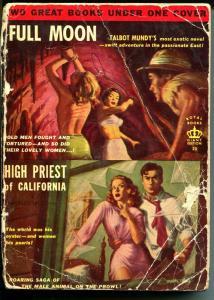 High Priest of California-Charles Willeford-1950's-Full Moon-Talbot Mundy-FR/G