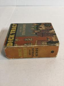 Dick Tracy And The Stolen Bonds Vg Very Good 4.0 Big Little Books 1105