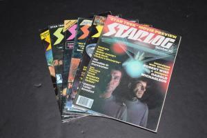 STARLOG Magazine lot of 6 - #8, 14, 16, 18, 25, 30 ~ Star Trek, Star Wars etc
