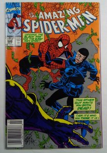 The Amazing Spider-Man #349 Newsstand Edition FN (1991)