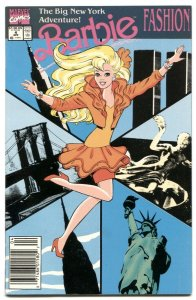 Barbie Fashion #4 1991- New York City / Statue of Liberty cover VF