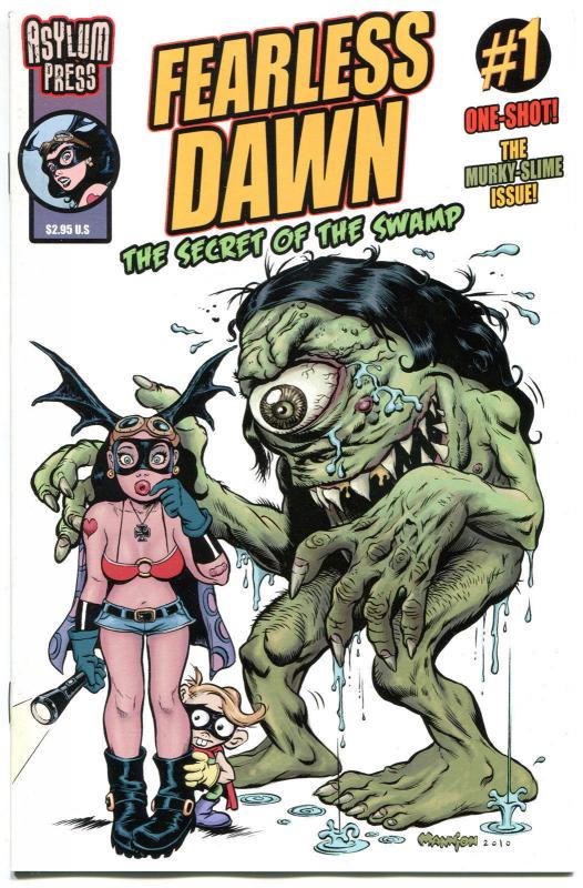 FEARLESS DAWN - Secret of the Swamp #1,  NM, Steve Mannion, 2011, Femme Fatale