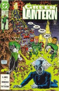 Green Lantern (1990 series) #7, VF+ (Stock photo)