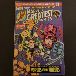 Marvel's Greatest Comics-Starring THE FANTASTIC FOUR!!